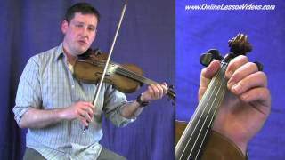 COTTON EYED JOE - Bluegrass Fiddle Lessons by Ian Walsh