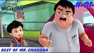 Best of Mr. Chaddha - Part 1   Vir the Robot Boy   Mixed Gags for kids   WowKidz Action
