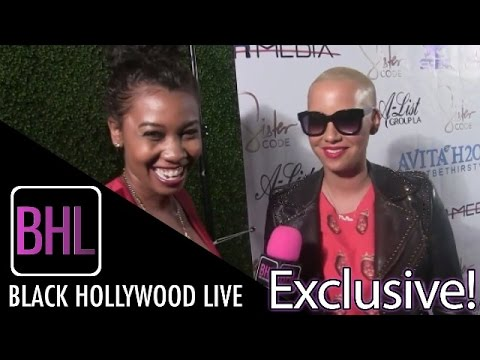 Amber Rose on Wiz Khalifa: They'll 'Still Always Love Each Other Forever' (Watch)