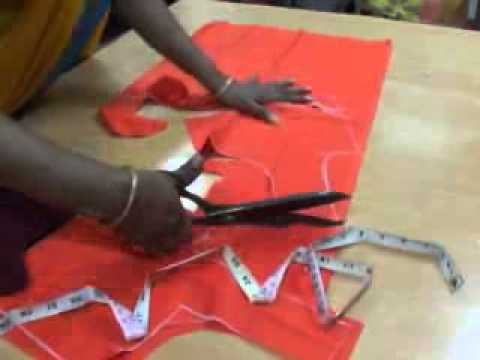 blouse cutting tutorial in telugu