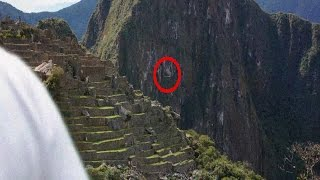Machu Picchu Flying Saucer WOW!! UFO Sightings [Strange UFO Clouds] Dec 2014