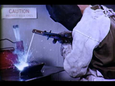 Inside Arc Welding #2: Flat Position - 1942