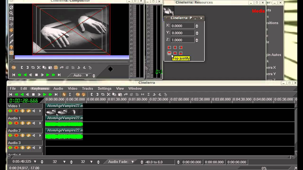 Part 1 Basic Cinelerra Tutorial Free Video Editor For