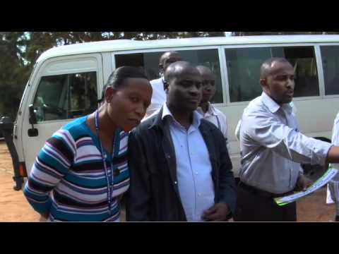 Vue sur le Rwanda: Un partenariat pour la paix
