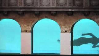 Johanna Keimeyer - Video Projection - Oderberger Stadtbad Berlin