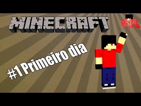 Minecraft-primeiro dia