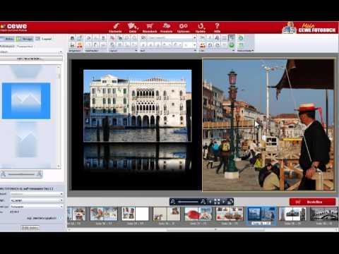 Kreative Seitengestaltung mit Software 4.8 - Teil 1 | CEWE FOTOBUCH Tutorial