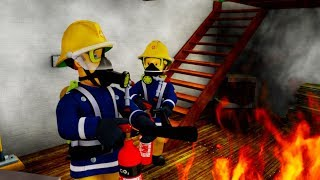 Fireman Sam US New Episodes HD | Hunting Dinosaurs ⭐  Fireman Sam Best Bits 🚒 Kids Movie