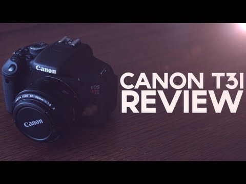 Canon Rebel T3i/600D - Review & Demo
