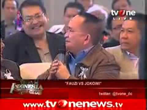 [FULL] Jokowi vs Fauzi Bowo di Indonesian Lawyers Club (ILC) 17 Juli 2012