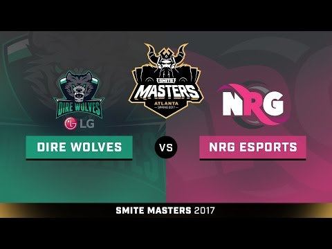 SMITE Masters Spring 2017 Placement Round NRG Esports vs. LG Dire Wolves Game 2