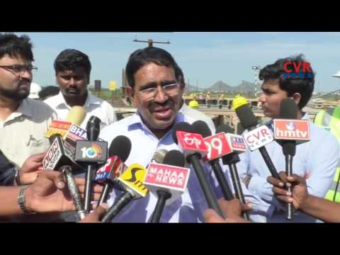Minister Narayana Review Works at Capital Construction Works | AP | CVR NEWS