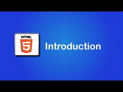HTML5 and CSS3 Beginner Tutorial 1 - Introduction, + downloading the software (old)