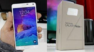 Samsung Galaxy Note 4 kutu açılımı
