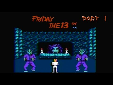 Friday the 13th - Part 1 (Jason and his Mother) Nintendo NES Gameplay