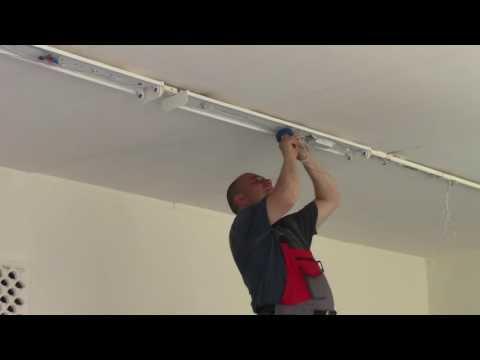 Монтаж потолочных светильников (точечных, галогеновых) своими руками в потолок (балку)