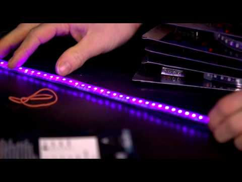 Phobya UV LED Strips Unboxing & First Look Linus Tech Tips