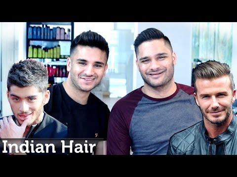 Men's Hair like ★ Zayn Malik and David Beckham Inspiration ★ UK Guests