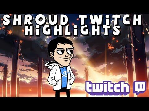 CS:GO - Cloud9 shroud twitch Highlights #1