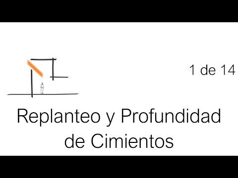 Construcción Paso a Paso: Replanteo y Profundidad de Cimientos - Tutorial 1 de 14