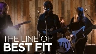 "TOY perform ""Dead and Gone"" for The Line of Best Fit"