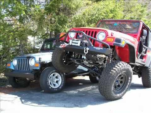 Custom Jeeps Wranglers Jeep Wrangler tj Custom