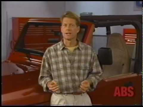 2003 Jeep Wrangler Operating Tips (analog VHS video to DV capture test)