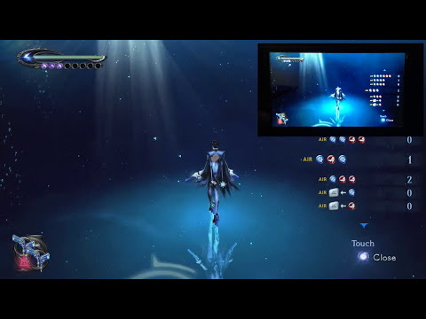 Bayonetta 2 Wii U GamePad Functionality Explained