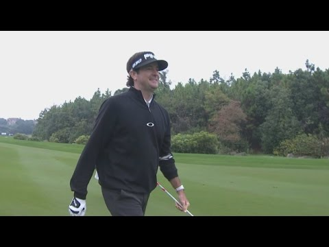 Bubba Watson's near albatross at HSBC