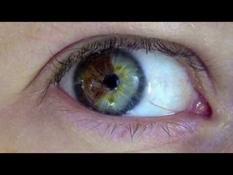 Video mágico: cambia tu color de ojos.