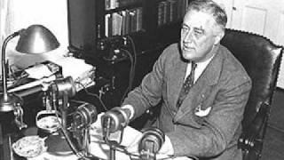 Franklin D. Roosevelt - Fireside Chat, Part 1