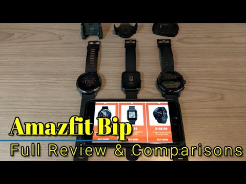 Amazfit Bip - 4 Month Review & Comparison to the Amazfit Pace & Pace2