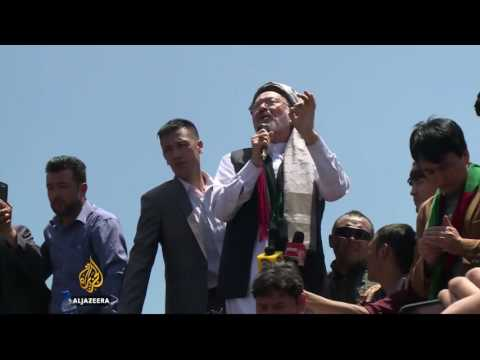 Afghanistan: Hazara protest power project in Kabul