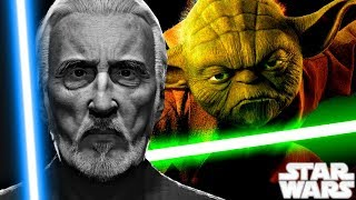 Star Wars REVEALS Why DOOKU HATES Yoda so Much - Star Wars Explained