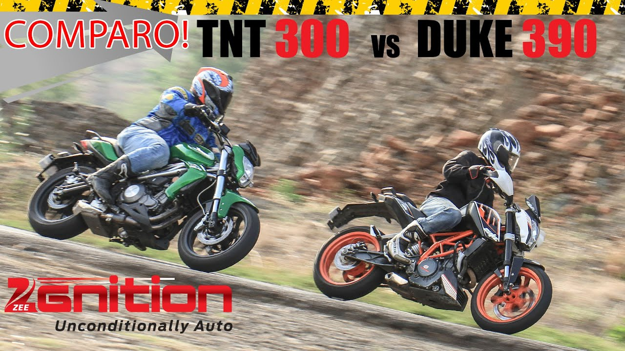 Benelli Tornado TNT 300 vs KTM 390 Duke | Video Review ...