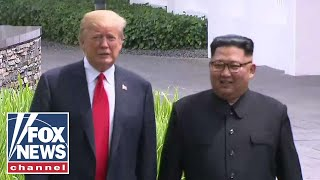 Trump: Meeting with Kim Jong Un was 'very positive'