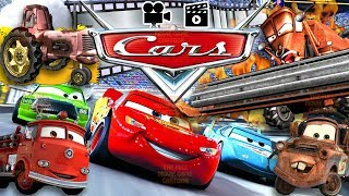 FULL MOVIE ENGLISH CARS GAME DUB & SUBTITLES Lightning McQueen & Frank Tractor Tipping The Full Movi