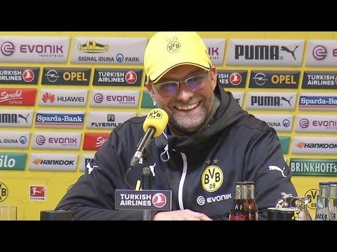 Pressekonferenz: Jürgen Klopp nach dem Heimsieg gegen Hertha BSC (2:0) | BVB total!