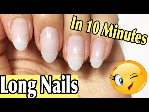 How to Fake Nails In Less Than 10 Minutes Without Gel Or Acrylic