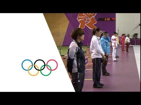 Kim (KOR) Wins Women's 25m Pistol Shooting Gold -- London 2012 Olympics