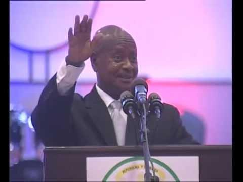 President Museveni speaks at RPF 25th Anniversary Dinner- December 2012