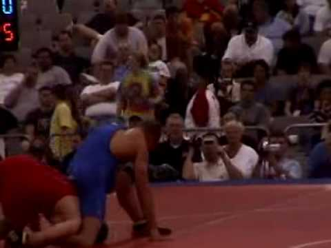 Cael Sanderson Wrestling at 2004 U.S. Nationals Image 1