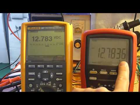 Multimeter review / buyers guide / comparison: Brymen TBM867 vs Fluke 87-V