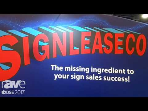 DSE 2017: Signleaseco Is A Leasing Company for Digital Signage