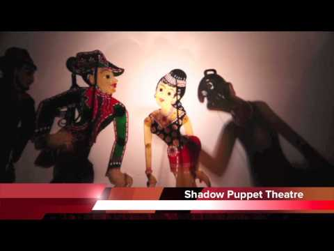 Shadow Puppet Theatre   Wayang Kulit video