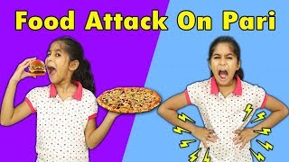 PARI LOVES PIZZA AND BURGER MORAL STORY FOR KIDS | Pari's Lifestyle