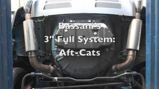 "Bassani Xhausts 2011 Mustang GT with Full 3"" System, X-Crossover & L/T Headers"