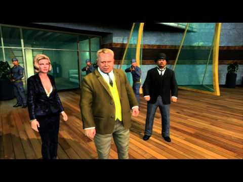 007 Legends HD: 007 Classic Walkthrough -Goldfinger: Auric Enterprises Part 2 (Xbox360/PS3/PC/WiiU)