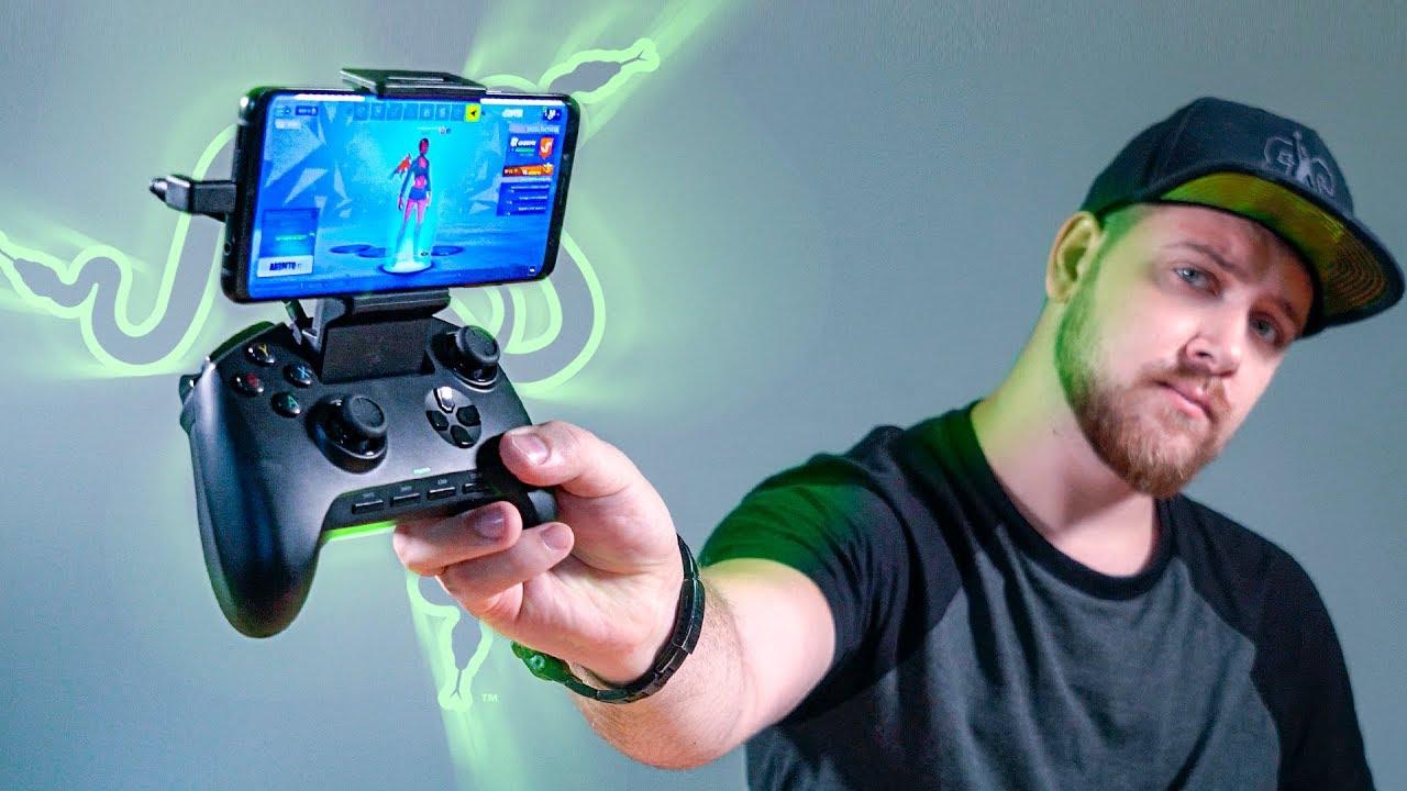 Геймпад RAZER для игр на смартфоне
