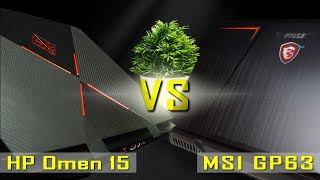 2018 HP Omen 15 vs MSI gp63 Leopard 8RE - In-depth Comparison / Review || i7-8750H / GTX 1060